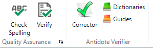 use antidote grammar and syntax checker in technical translation