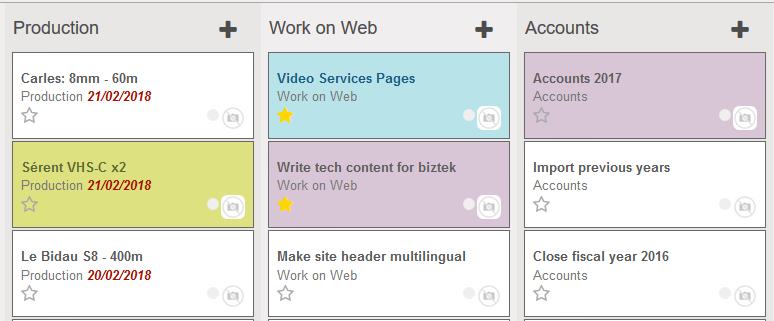 kanban project management in odoo